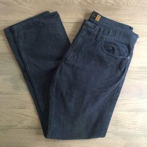 Men's Jcrew Blue Corduroys 34x34